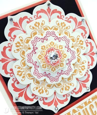 Stampin up stampinup order online pretty floral frames framelits dies big shot daydream medallions card ideas