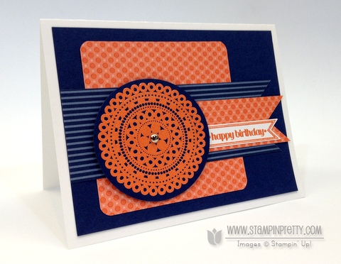 Stampin up stampinup pretty orders online lacy and & lovely masculine card idea circle punch