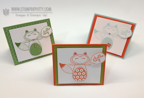 Stampin up stampinup pretty order online free catalog hello foxy fox card ideas demonstrator