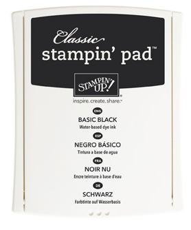 Stampin up basic black ink stampin pretty