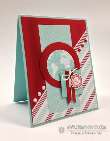 Stampin up stampinup order online pretty card ideas masculine birthday catalog punch round array bitty banners framelit
