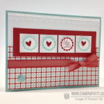 Sending a Message with a Stampin' Up! Punch!