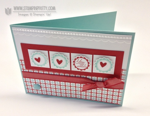 Stampin up stampinup pretty order online a round array punch free catalog big shot machine card idea