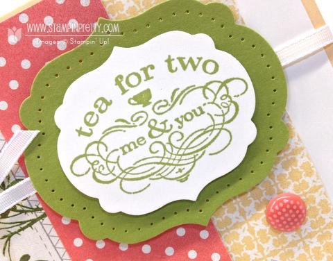 Stampin up stampin up mojo monday order online pretty tea shoppe shop card ideas free catalogs