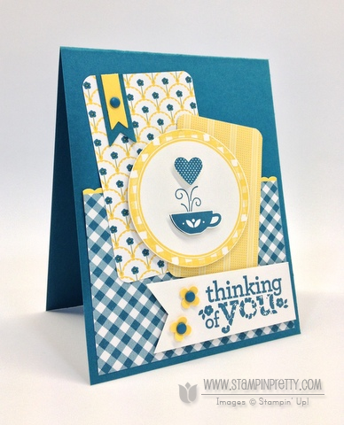 Stampin up stampinup pretty order online kind & cozy circles punch free catalog mojo monday candy dot