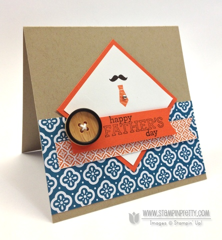 Stampin Up A Fitting Occasion Delightful Dozen Holiday Cards & Ideas Masculine Card Ideas Mary Fish Stampin Pretty Stampinup Demonstrator Blog