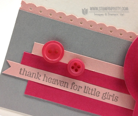 Stampin up stampinup order pretty online free catalog punch moving forward baby girl cards idea