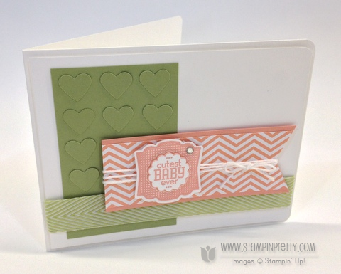 Stampin up stampinup baby card ideas label love demonstrator order pretty punch free catalog