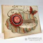 Stampin' Up! Vintage Card Idea