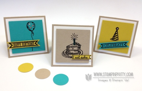 3 Reasons To Love Sketched Birthday Stampin Pretty