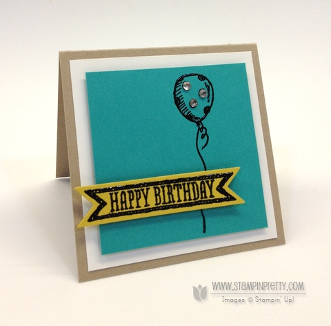 Stampin Up Pretty Order Online Demonstrators Free Catalog Sketched Birthday Card Idea