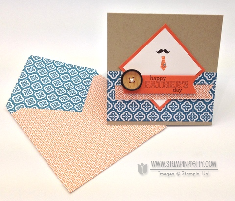 Stampin up stampinup pretty order online fathers day card ideas delightful dozen simply scored envelope tutorial