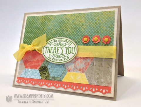 Stampin up stampinup orders online pretty punch mojo monday card idea free catalog sneak peek