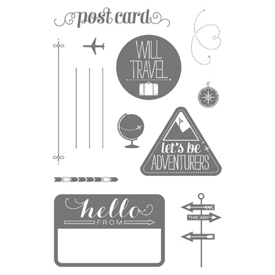 Wanderlust stampin up stampinup card ideas