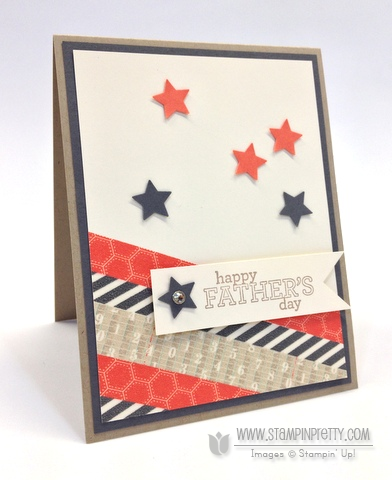 Stampin up stampinup order mary fish pretty fathers day card ideas delightful dozen star punch catalogs
