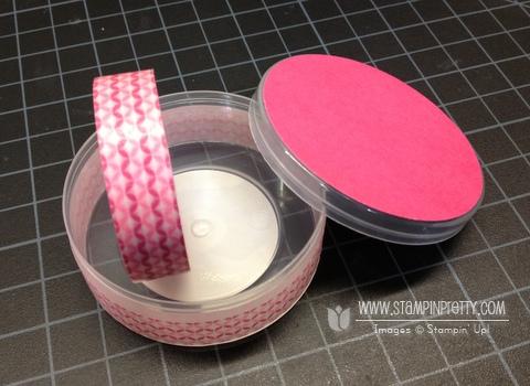 Stampin up stampinup order stack & store caddy washi tape storage organization
