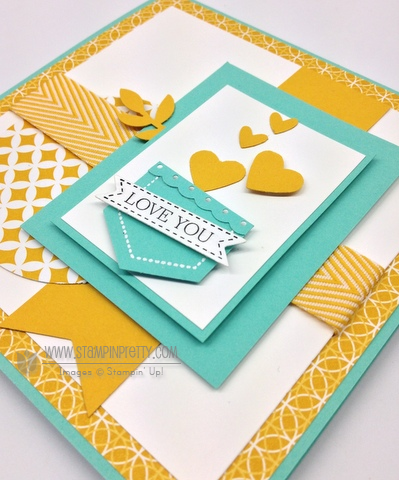 Stampin up stampinup mary fish order online it pretty mojo monday card idea hexagon punch demonstrator blog