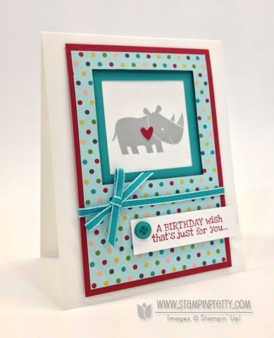 Stampin up stampinup it pretty card ideas free catalog zoo babies birthday demonstrator