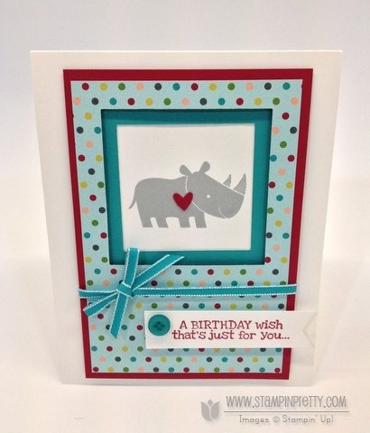 Stampin up stampinup it pretty cards idea free catalog zoo babies birthday demonstrator order