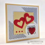 PPA 161 Stampin' Up! Anniversary Heart Card