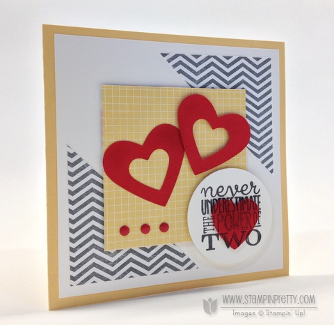 Stampin up stampinup it pretty order heart anniversary wedding card idea yippee skippee free catalogs