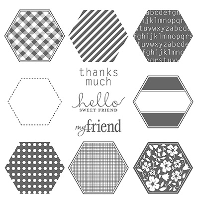 Six-sided sampler stampin up stampinup card ideas