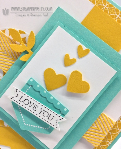Stampin up stampinup mary fish order online it pretty mojo monday card idea hexagon punch demonstrators