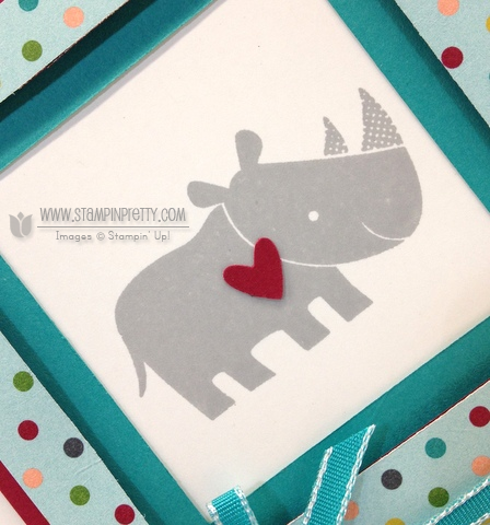 Stampin up stampinup it pretty card idea free catalog zoo babies birthday demonstrator order