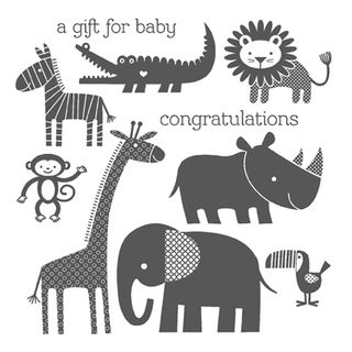 Zoo babies stampin up stampin up card ideas