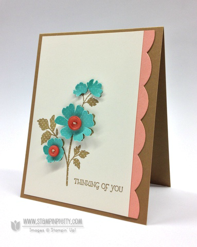 Stampin up stampinup pretty order it online mary fish demonstrator gifts of kindness sympathy card ideas