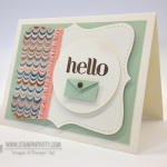 July Pals Blog Hop:  Stampin' Up! In Colors!