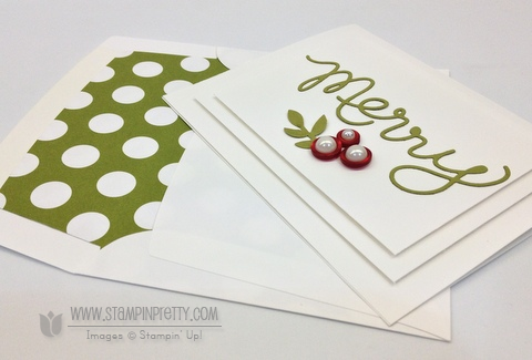 Stampin up stampinup order stamp it mary fish pretty expressions thinlits dies holiday card ideas