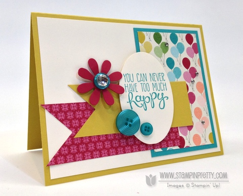 more birthday cards archives  page  of   stampin' pretty, Birthday card
