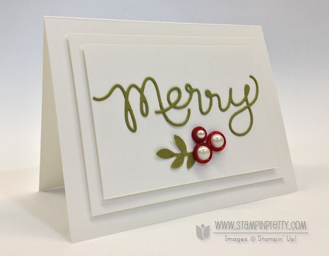 Stampin up stampinup order stamp it mary fish pretty expressions thinlits dies holiday card idea catalog