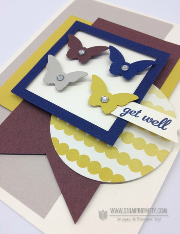 Stampin up stampinup bitty butterfly punch mojo monday get well card idea free catalog order pretty mary fish