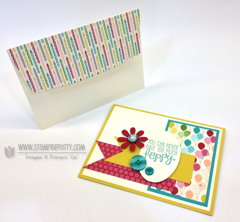 Stampin up stampinup birthdays basic card yippee skippee free catalog order it pretty mary fish