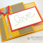 In LOVE with Stampin' Up! Expressions Thinlits!