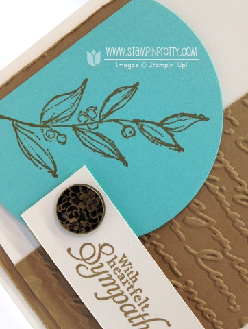 Stampin up stampinup pretty order mary fish simply sketched mojo monday card sympathy idea