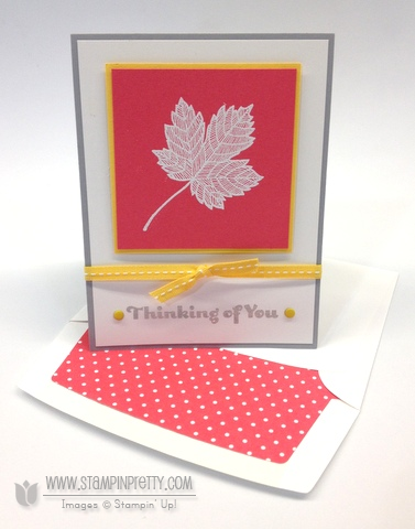 Stampin up stampinup pretty magnificent maple fall card idea holiday catalog stamp it order stamp it
