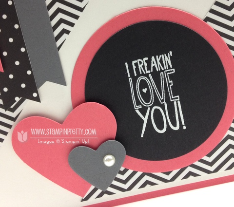 Stampin up stampinup mary fish stamp it pretty yippee skippee card idea mojo monday punch circles framelits