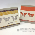 Stampin' Up! Elegant Butterfly Punch Trios
