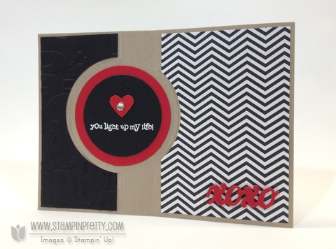Stampin up stampinup order mary fish pretty envelope punch board thinlit die circles crazy mixed love