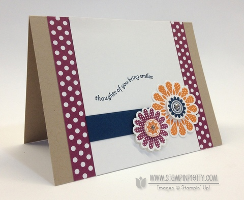 Stampin up stampinup stamp it pretty order polka dot piece card idea free catalog punch