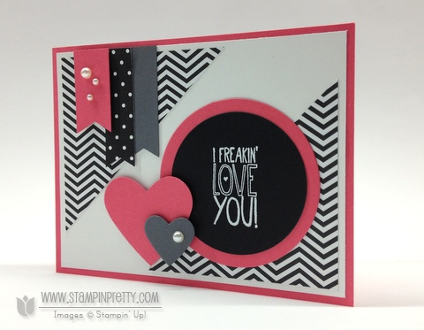 Stampin up stampinup mary fish stamp it pretty yippee skippee card ideas mojo monday punch circle framelits