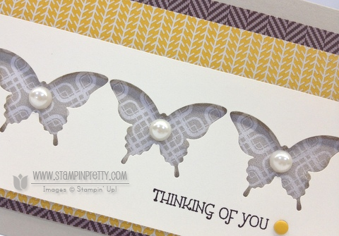 Stampin up stampinup pretty order mary fish elegant butterfly punch sweater weather gifts of kindness card idea
