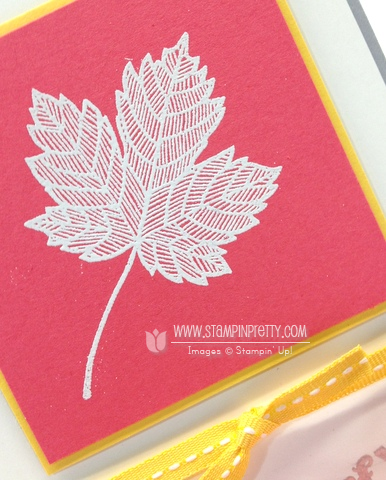 Stampin up stampinup pretty magnificent maple fall cards idea holiday catalog stamp it order