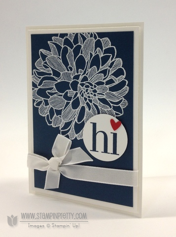Stampin up stampinup stamp it pretty order online free holidays catalog envelope liner framelits die regarding dahlias