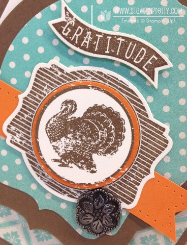 Stampin up stampinup pretty order deco labels framelits dies thanksgiving card idea harvest of thanks holiday catalog