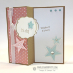 It's a Girl . . . and a Boy!  Label Card Thinlits & Video!