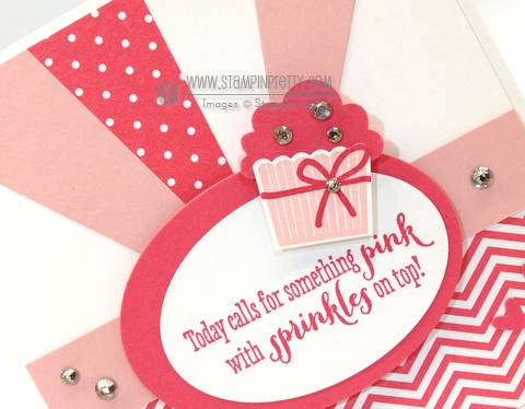 Stampin up stampinup mary fish pretty stamp it cupcake builder punch birthday card ideas girl remembering your create